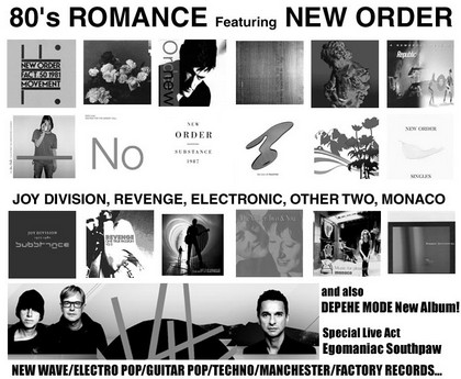 80's ROMANCE featuring NEW ORDER